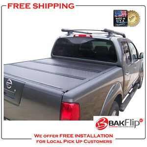 Bakflip G2 Folding Tonneau Cover For 05 19 Nissan Frontier 5 Bed Cover 226506