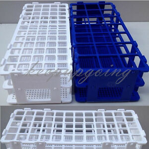 40 60holes 3 Layers Plastic Test Tube Rack Holder Storage Stand Lab Equipment