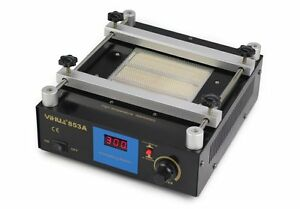 Yh 853a 600w Smd Pcb Preheater Bga Rework Station Preheating Oven Station