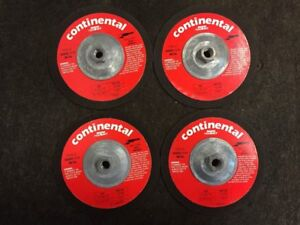 Continental Magna Cut Metal Grinding Wheel Type 27 Lot Of 4