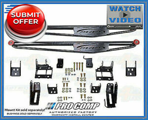 Pro Comp 72300b Lateral Traction Bars For 2011 2016 Ford F250 f350 4wd Crew Cab