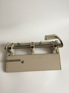 Vintage 3 Hole Punch Foothill 310 Adjustable Paper Hole Punch