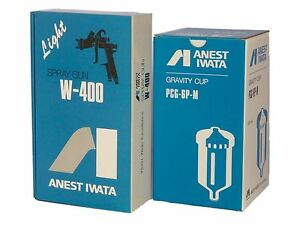 Anest Iwata W 400 144g W400 1 4 Mm Bellaria Classic Plus Spray Gun With Cup New