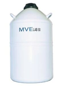 Chart Mve Lab 50 Liquid Nitrogen Cryogenic Storage Dewar Flask 50 Liter