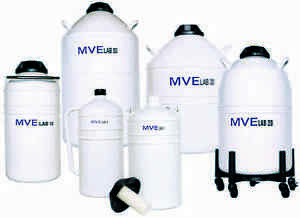 Chart Mve Lab 47 Liquid Nitrogen Cryogenic Storage Dewar Flask 47