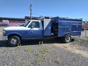 1995 Ford Duct Cleaning Vacuum Truck