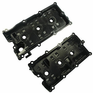 Left Right Valve Cover W gasket For I35 02 09 Altima Murano Maxima Quest 3 5l