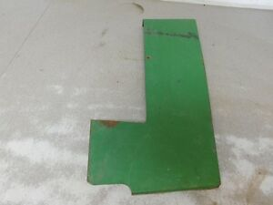 John Deere 4020 Console Cab Tractor Right Hand Rear Engine Side Panel 8561