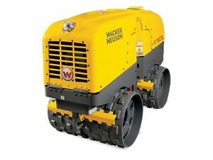 Wacker Neuson Rtlx sc3 Trench Roller Sheepsfoot Diesel Flex Drums Compactor New
