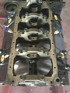 350 Small Block Chevy Blueprinted 4 Bolt Main Marine Engine Blocks