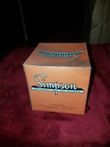 Vintage Simpson Volts Meter W Original Box New Old Stock Nos 250volts