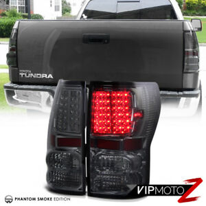 Smoke For 2007 2013 Toyota Tundra Led Smd Rear Brake Lamp Tail Lights Assembly
