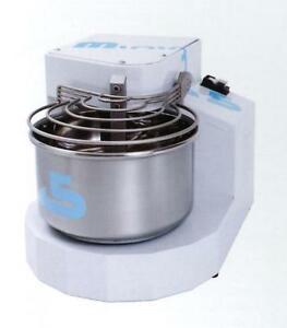 New Spiral Dough Mixer 7 Liters 5kgs Made In Italy New Italian Design 1 Speed