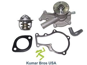 New Kubota Rtv900w6se Rtv900w8se Water Pump With Return Hose Thermostat