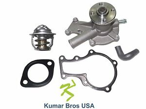 New Kubota Rtv900w Rtv900w6 Water Pump With Return Hose Thermostat