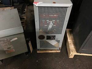 Marcus 25kva 1ph Transformer H v 600 L v 120 240 200lbs Ms25a2