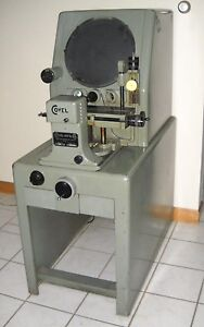 Clausing Covel 14 Optical Comparator Model 14b Great Condition Working 1 Owner