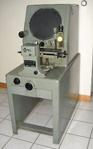 Clausing Covel 14 Optical Comparator Model 14b Excellent Condition Working