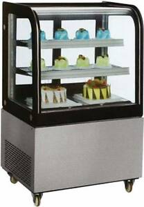 Omcan 39539 Rs cn 0270 36 Floor Cold Food Bakery Refrigerated Display Case