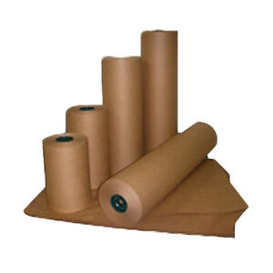 Delta Paper Recycled Kraft Paper Plain Paper Brown 900 L X 36 W