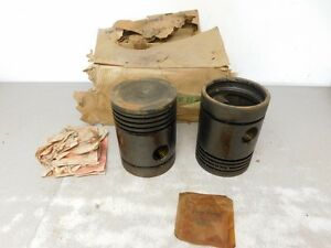 John Deere Styled G Tractor Nos 045 Over Piston Kit F1076r 8599
