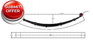 Pro Comp 23311 Rear Lifted Leaf Spring 6 For 1999 2007 Ford F 250 f 350 Sd