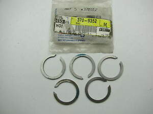 5 Oem Gm 3709352 Manual Transmission Gear Snap Rings 090 4 Speed Corvette
