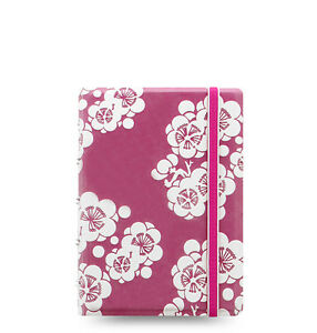 Filofax Notebooks Impressions Pocket Pink And White 115044