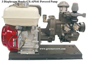 3 Diaphragm Gas Powered Pump Honda Gx 6 5 Hp Engine