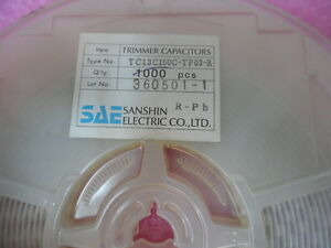 Lot X 561 Tc13c100c tp03 r Ceramic Trimmer Capacitor