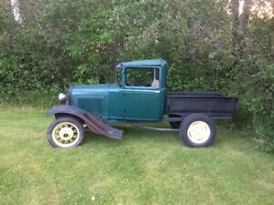 Ford Model A Engine Cab Box Truck 1930 Vintage Rat Rod Project 1932 1934