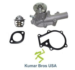 New Kubota B3200 B3300 B3350 B7510 7610 B7800 Water Pump With Thermostat