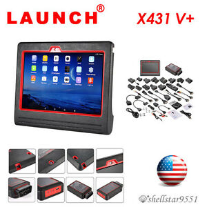 Launch X431 V Full System Obd2 Diagnostic Scan Tool Code Scanner Tablet