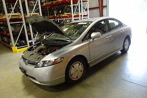 Gas Engine 2007 Honda Civic Hybrid 1 3l Motor With 75 491 Miles