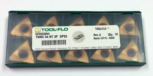 Tnmc 54 Nt 3p Gp50 Tool Flo 0253030n4 pack Of 10