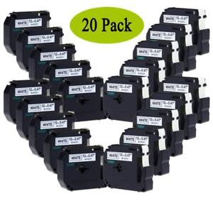 Mk231 M k231 Compatible For Brother P touch Label Tape Pt 65 12mm 20 Pack
