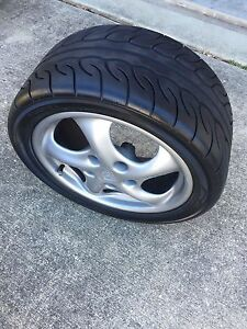 Porsche 911 996 Rims Tires Full Set 4