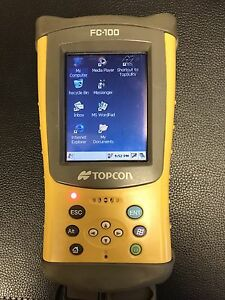 Top Con Fc 100 Data Collector With Topsurv Gps Program
