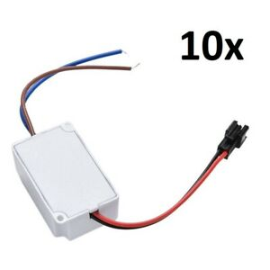 10x Ac Dc Power Transformer 120v 240v To 12v Home Voltage Step Down Led Driver