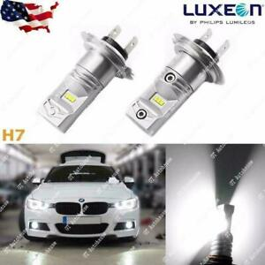 120w Extreme Bright Xenon White H7 Led Bulb For Day Time Drl Fog High Beam Light