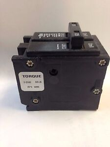 Eaton Br2125 Main Double Pole Circuit Breaker 2 125 Amp New