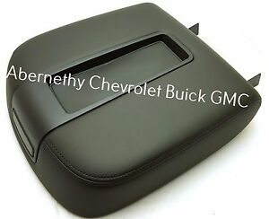 19328715 Black Floor Console Lid 2007 2014 Full Size Gm Suv And Truck See List