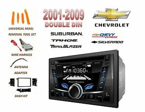 2001 2012 Chevrolet Silverado Tahoe Suburban Bluetooth Mp3 Usb Car Stereo