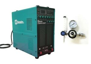 Tig Welder Ac dc Simadre Tig200p Pulse Inverter Weld Aluminum Argon Regulator