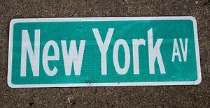 New York City Sign For Sale Disc Sanders