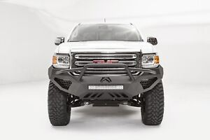 Fab Fours Half Ton Vengeance Pre Runner Front Bumper Fits 2015 2017 Gmc Canyon