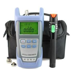 30mw Visual Fault Locator Fiber Optic Cable Tester And Optical Fiber Power Meter