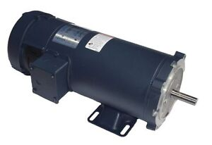 1 Hp 1800 Rpm 56c Frame 12 Volts Dc Tefc Leeson Electric Motor 108322