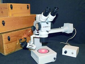 Professional Stereoscopic Microscope Mcco produced By Lomo Russia
