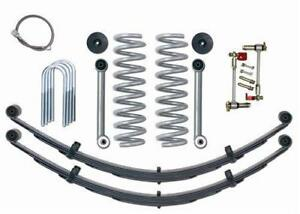 Rubicon Express 3 5 Superflex Short Arm Lift Rear Leaf Springs No Shocks Re6030
